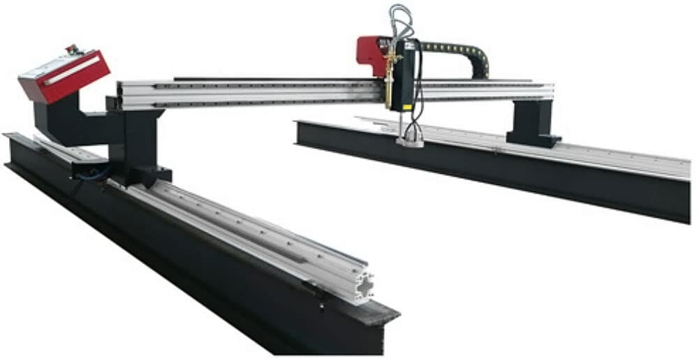 DragonIII CNC gantry cutting machine is simple