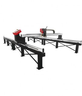 gantry-CNC-cutting-machine with Support base